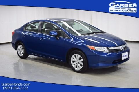 Pre-Owned 2012 Honda Civic LX FWD 4D Sedan