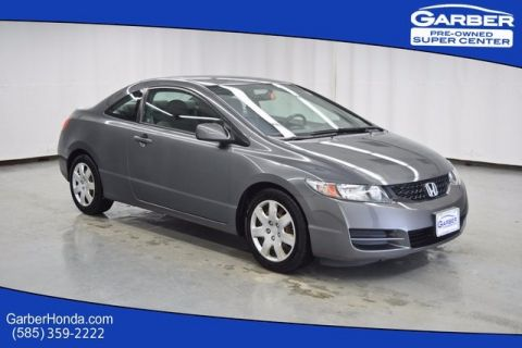 Pre-Owned 2009 Honda Civic LX FWD 2D Coupe