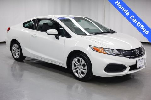 Certified Pre-Owned 2015 Honda Civic LX FWD 2D Coupe